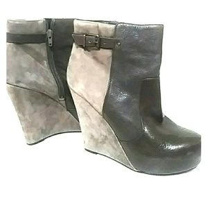 Wedge booties Jessica Simpson 8.5